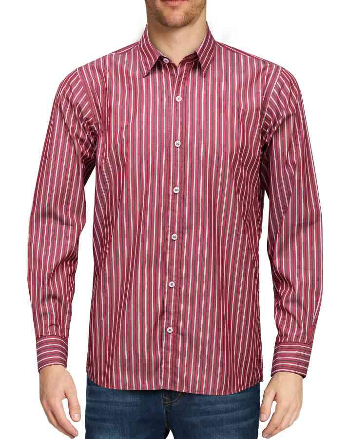 We are direct seller for exclusive range of readymade office shirts in vadodara.lining shirts range is best for office wear red stripes shirts, Yellow, blue etc. online in Vadodara, Gujarat.