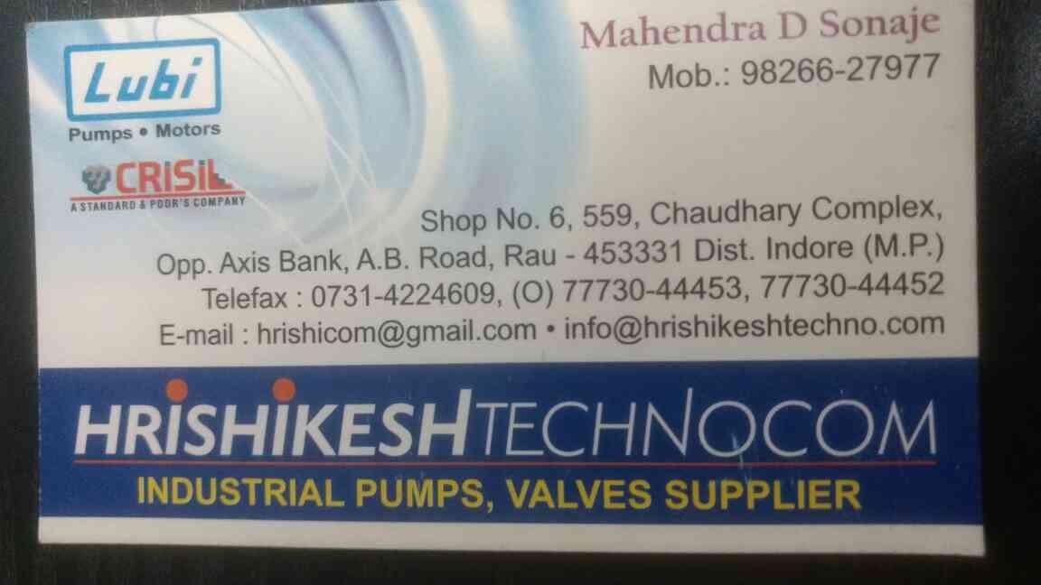 Lubi Pump in Indore.