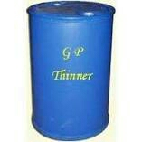 We are a renowned manufacturer, supplier and exporter of premium qualityGP Thinners.These thinners are applicable to pain industriesand usedas one of the prominent solvent base for paints. Offered thinners are known worldwide for their wear resistant and easy & instant drying. These thinners are safe to use and match the international standards in terms of quality. Moreover, theseGP Thinnerscan be availed from us in various packing sizes and in any quantity, as per the needs and demands of our valued patrons.