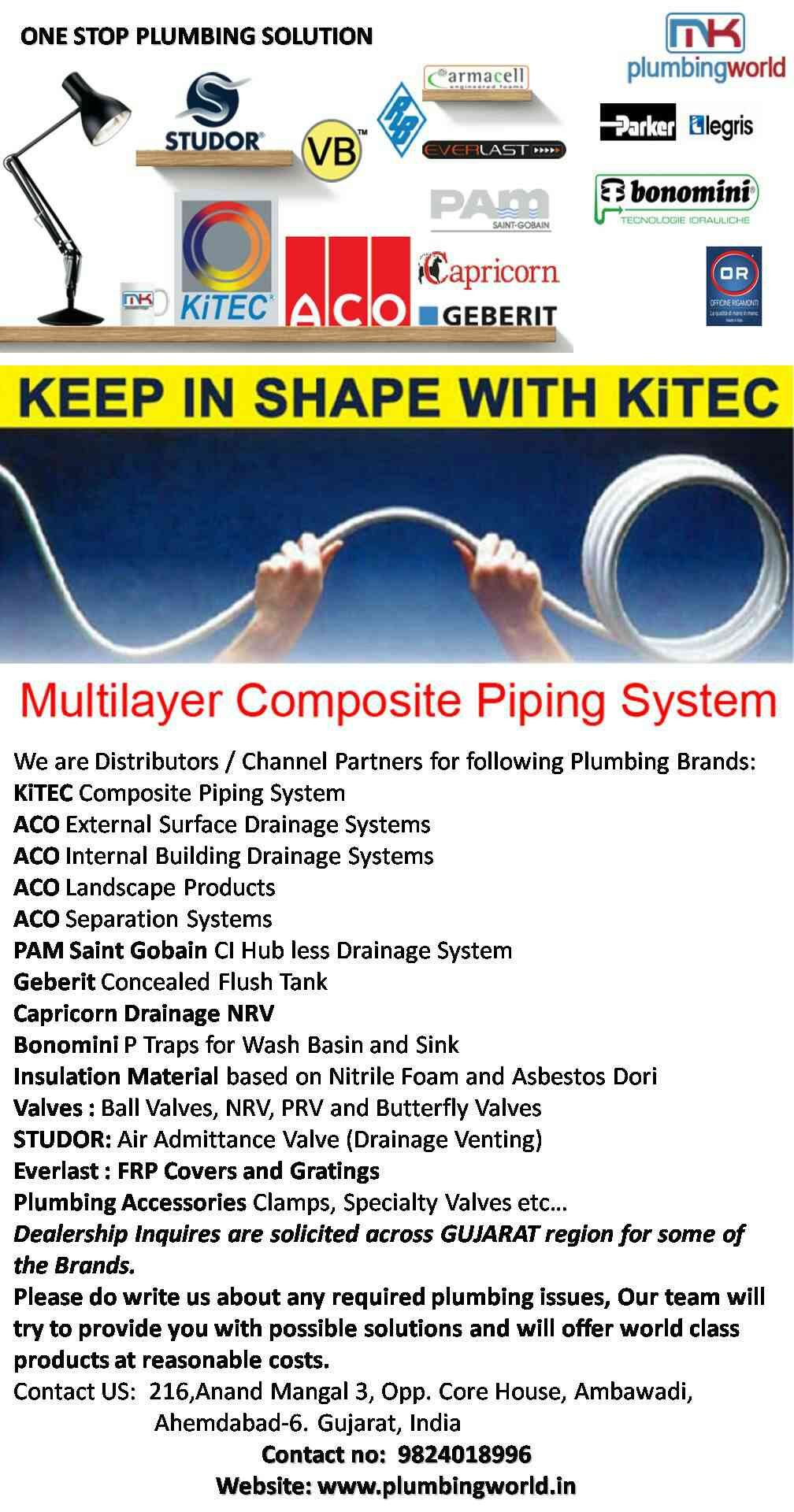 Kitec Composite Piping System