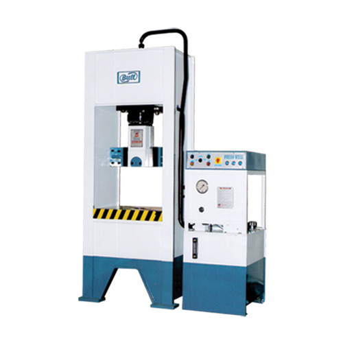 ANGLE / PLATE VERTICAL BENDING MACHINE in Rajkot Gujarat Vertical Bending Machine Angle / Plate Vertical Bending Machine Model BM-C-100 BM-C-150 BM-C-200 BM-C-250 Capacity 100 Ton. 150 Ton. 200 Ton. 250 Ton. Table Size 700*450mm. 800*500mm. 750*450mm. 800*500mm. Ram to table gap 600mm. Throat 225mm. 250mm. Cylinder Stock 400mm. Ram Plate 600*400mm. 600*450mm. 700*450mm. Power Pack Power operating, Double Speed Pump and Valve Rexroth, Yuken & Polyhydron, Denison Operating System Put Button and Foot Switch. Panel System Main power ON/OF, motor ON/OF, inching [Up-Down], One stroke, Emergency Stop, Button with foot switch. Electric Motor 12.5HP 15HP 20HP Oil Tank Capacity 200 liter.[Approx.]. 250 liter.[Approx.]. 300liter.[Approx.]. 350 liter.[Approx.].