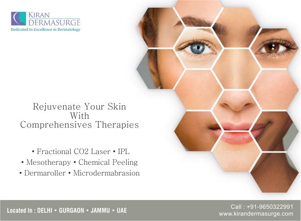 A set of complete comprehensive skin rejuvenation procedures. Visit us at www.kirandermasurge.com