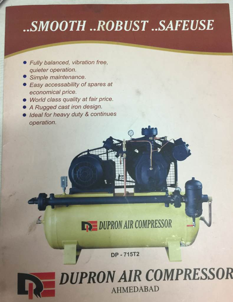 We are leading manufacturer of air compressor in Ahmedabad