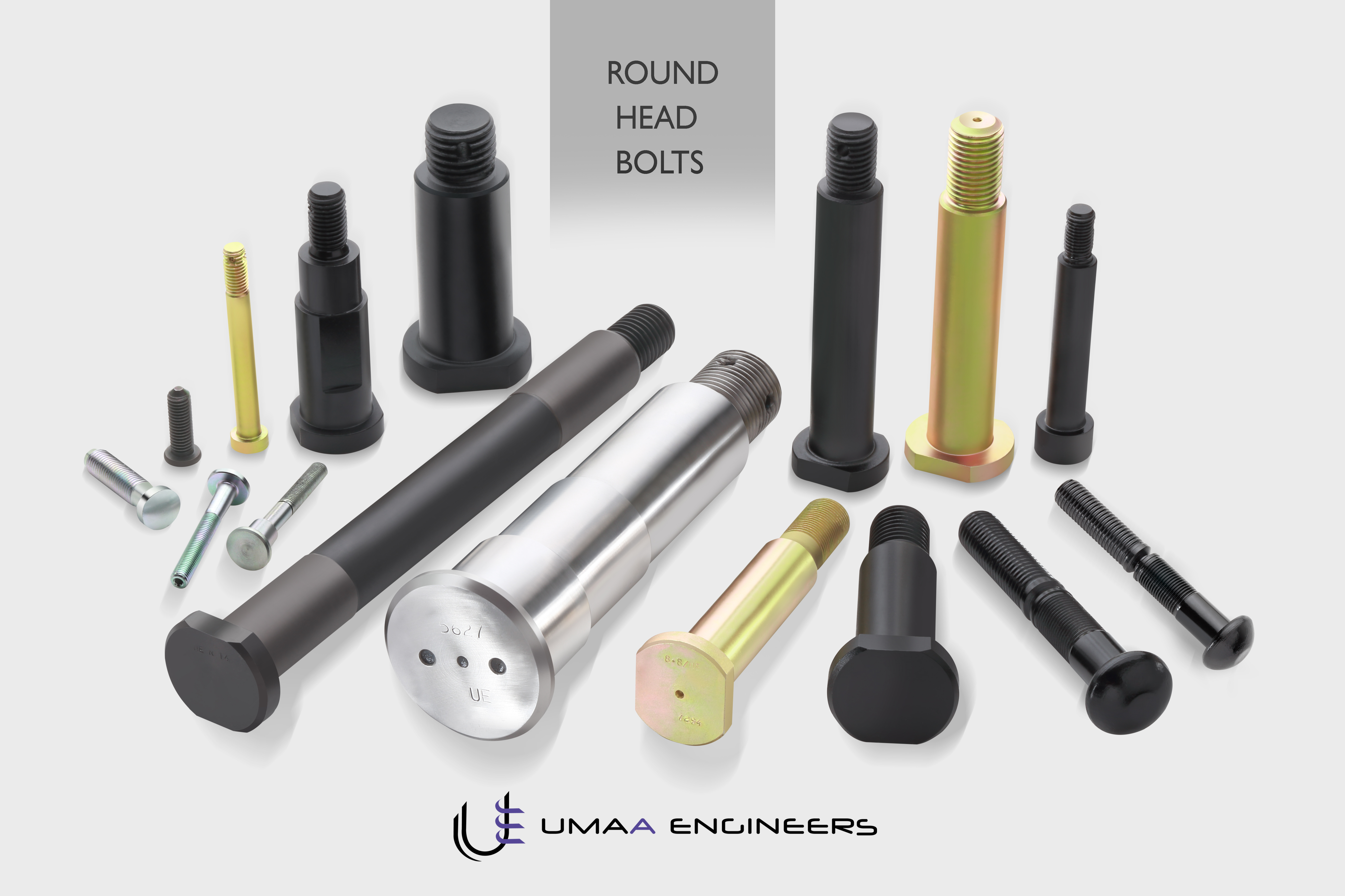 Round Head Bolts Manufacturers in Chennai We are a leading Manufacturer of Round Head Bolts