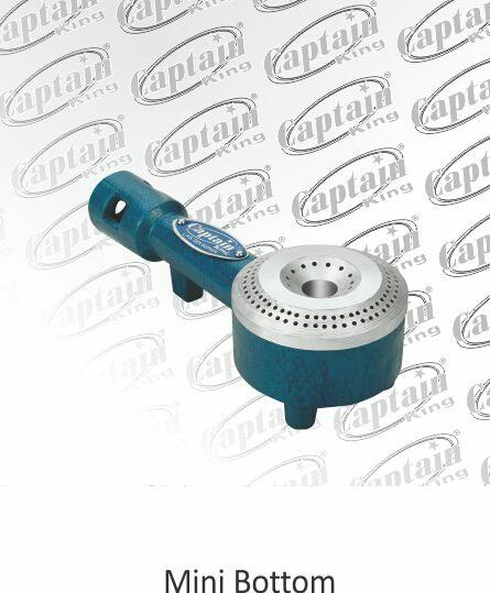 we are manufacturing good quality Mini bottom burner in Rajkot