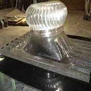 POLYCARBONATE TURBO VENTILATOR BASE PLATES  These Ventilators assure ventilation of air that helps in removing foul smell and maintaining hygienic environment. It provides throughout energy free fresh air and cooling.