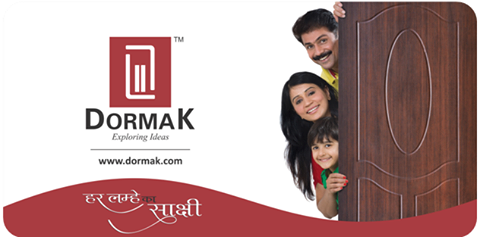 Enter into the world of novel, in-vogue, quintessential yet robust doors of Dormak. Follow us New ERA of Dormak's Door:- Facebook, Linkedin, Twitter, Instagram, Youtube and for our product availability, visit our associates sites as India Mart, Flipkart, Alibaba, Amazon etc.