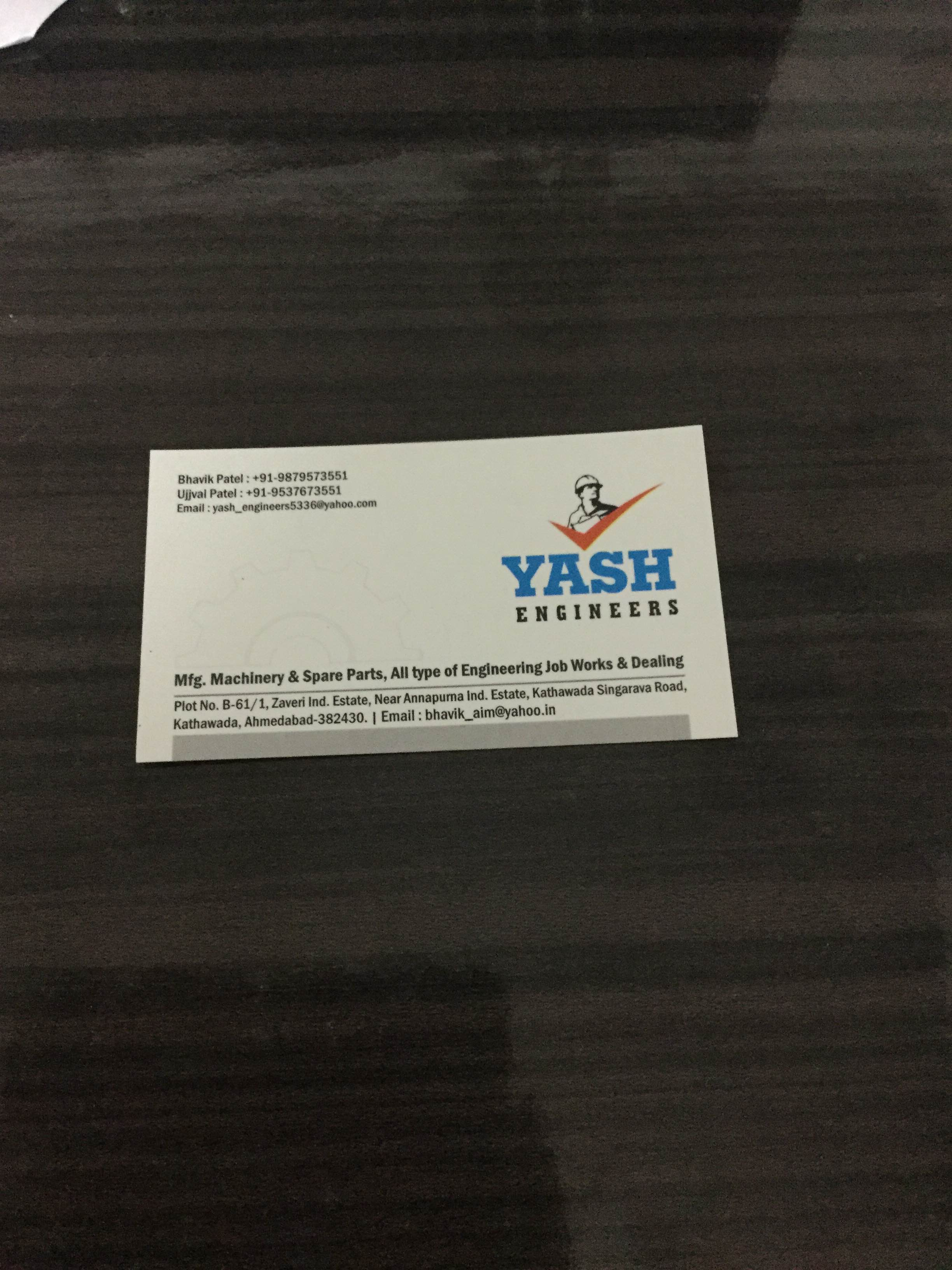 Yash Engineer is Manufacturer and Supplier of Steel Plant Machinery