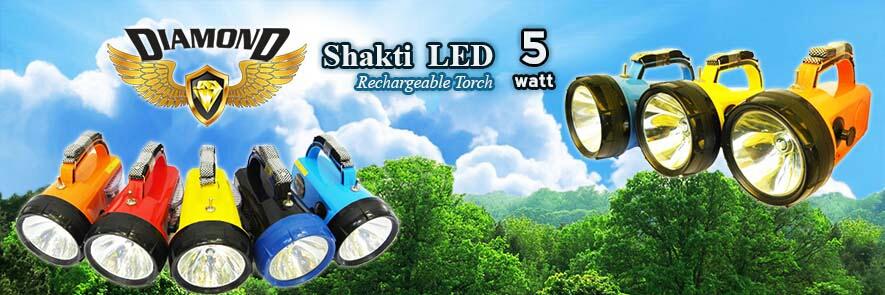 We have verious models like 3watt, 5watt, 8watt, 10watt rechargable torch.We accept bulk enquiries also from Surat, Anand etc.