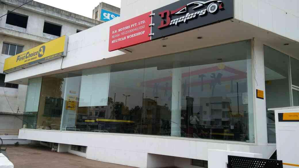Hyundai Verna car service and pampering service in budget at Vadodara.  B.H.Motors Pvt.Ltd.