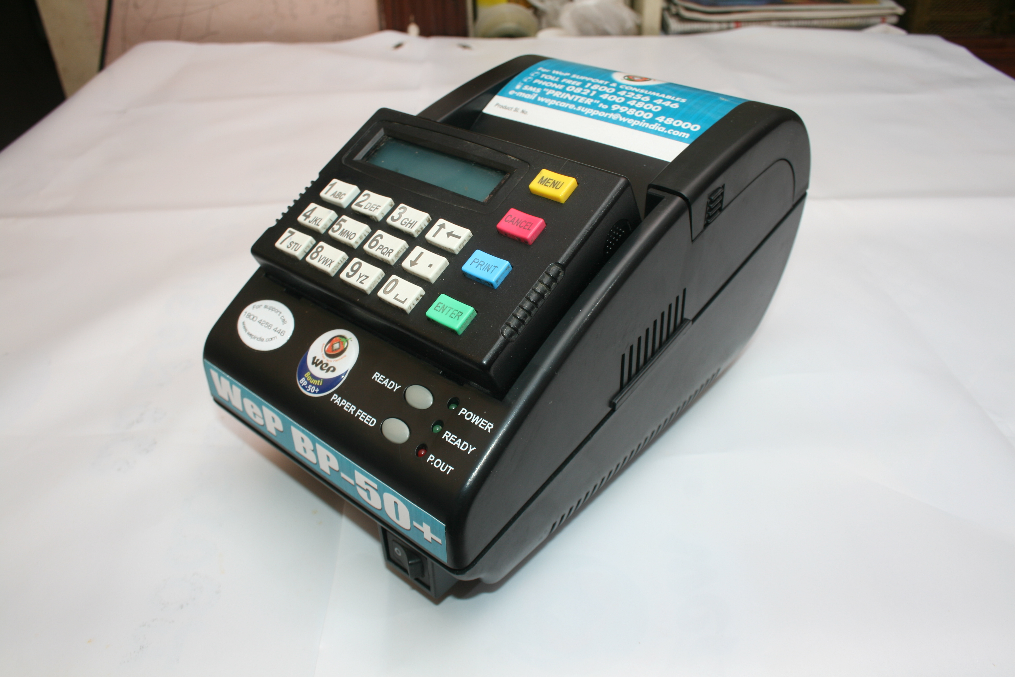 We also provide Complete PC Based Billing Solution with Cloud Computing facility. And also deal with all range of POS Printer, Standalone Billing Machine, TAB Based Billing Machine, Billing Software for Restaurant, Printers like Inkjet printer, Ink Tank Printers, All in One Printer, Photo Printer, Wi fi printers, Videojet Printer, Barcode printers, Hand Held Billing Machine and Scanner.  We manufacture LED Scrolling Displays & LED Writing Boards