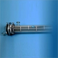 There are two basic type of heat exchanger, namely Shell & Tube type and Coil type. Shell & tube type heat exchangers are available with glass tube and glass or Mild Steel (MS) Shells according to set industry standards. The end bonnets and shell can be supplied in varieties of material of construction e.g., SS, CS, FRP, PTFE lined, glass lined, and more, relying on the condition of process. Also, Silicon Carbide can also be used for exchangers as per requirement. Glass heat exchanger(shell type & tube type /coil type) manufacturer in vadodara, Gujarat, India.