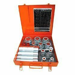 Start your Khoj today  Bearing Mounting Tools    CALL NOWASK PRICE  Ekta Enterprises, G I D C, Vadodara  Trustseal Verified  PRODUCT DESCRIPTION  Item Code: 15986572  Fitting Tool Kit:   Our company offersBearing Mounting Tools, which are portable steel box. These kits are convenient, versatile tool to mount medium and small sized bearings without causing any damage to them. The kit consists of ground, hardened, individually numbered sleeves and impact rings. The size of these impact rings is as per bearing and the impact sleeve is common for a group of ring. The mounting forces are evenly distributed to both bearing rings by the use ofcorrect impact ring and sleeve combination. This process increases the operating life of bearings and prevents damages. These kits can also be used to mount gears, sleeves, coupling and pulleys. Moreover, these kits are highly durable.  Bearing Mounting Tools in vadodara Gujarat  Bearing Mounting Tools in bharuch Gujarat  Bearing Mounting Tools in surat Gujarat  Bearing Mounting Tools in pune Maharashtra  Bearing Mounting Tools in indore india  Bearing Mounting Tools in Gujarat india