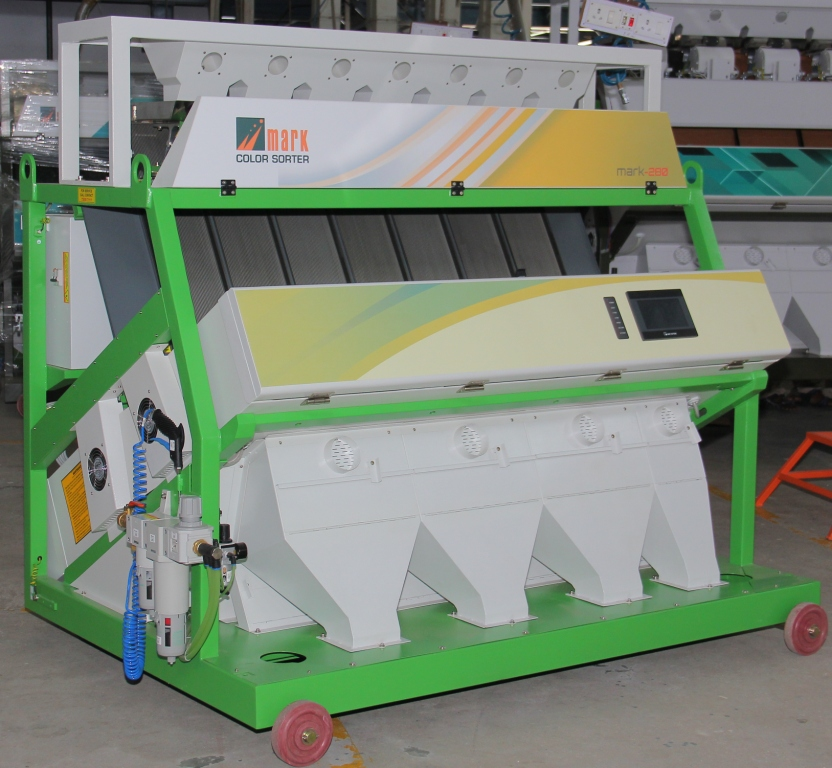 RICE COLOR SORTER MACHINE MANUFACTURER IN COIMBATORE Mark Introduce latest version Mark V5 280 Channels, This Model Specialized sorting of Rice category. COLOR SORTING MACHINE SORTER MACHINE MACHINE MANUFACTURER IN INDIA RICE SORTER MACHINE DALL COLOR SORTER MACHINE  www.marksorter.com