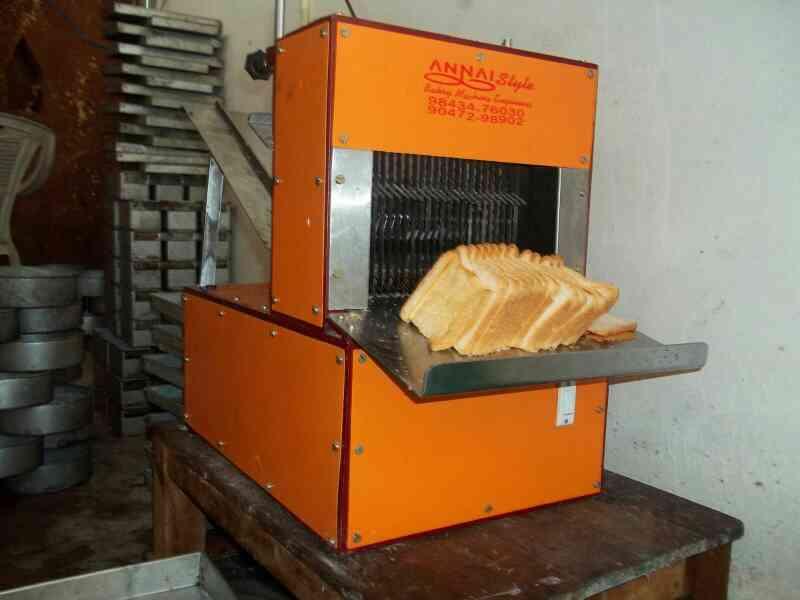 Bread  Cutter  In
