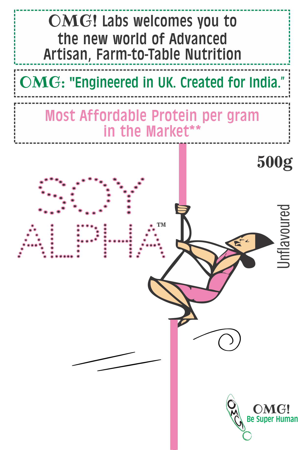 Organic Soy Protein - Now available in India