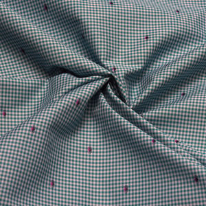Checks Shirting Fabrics manufacturer In Mumbai  With the ever growing demand of Ready-To-Stitch fabrics, our company excels in processing a raw quality yarn into a fine quality fabric, by engaging processes right from Dyeing to Processing. Today, NSMPL processes over 30 Lakh meters of fabric every month under this process.