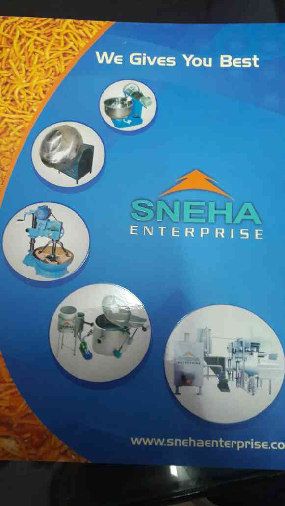 We are the leading manufacturer of Namkeen Making machine in ahmedabad