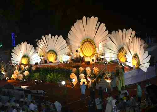 we are the one of the best experienced event management company which having own production to create a creative decoration for the all kind of events like weddings and birthday parties and all corporate events....