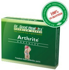 Arthrite Capsules  Therapeutic category: Oral pain relieving formulation   Indications: Arthritic/Joints pain, Osteoarthritis, Muscular pain, Morning stiffness and other painful disorders.   Dosage: 1 to 2 capsules twice daily or as directed by the physician.  Safety: Non-habit forming and no adverse effects in recommended doses.  Presentation: Box of 3 X 10 capsules in blister pack