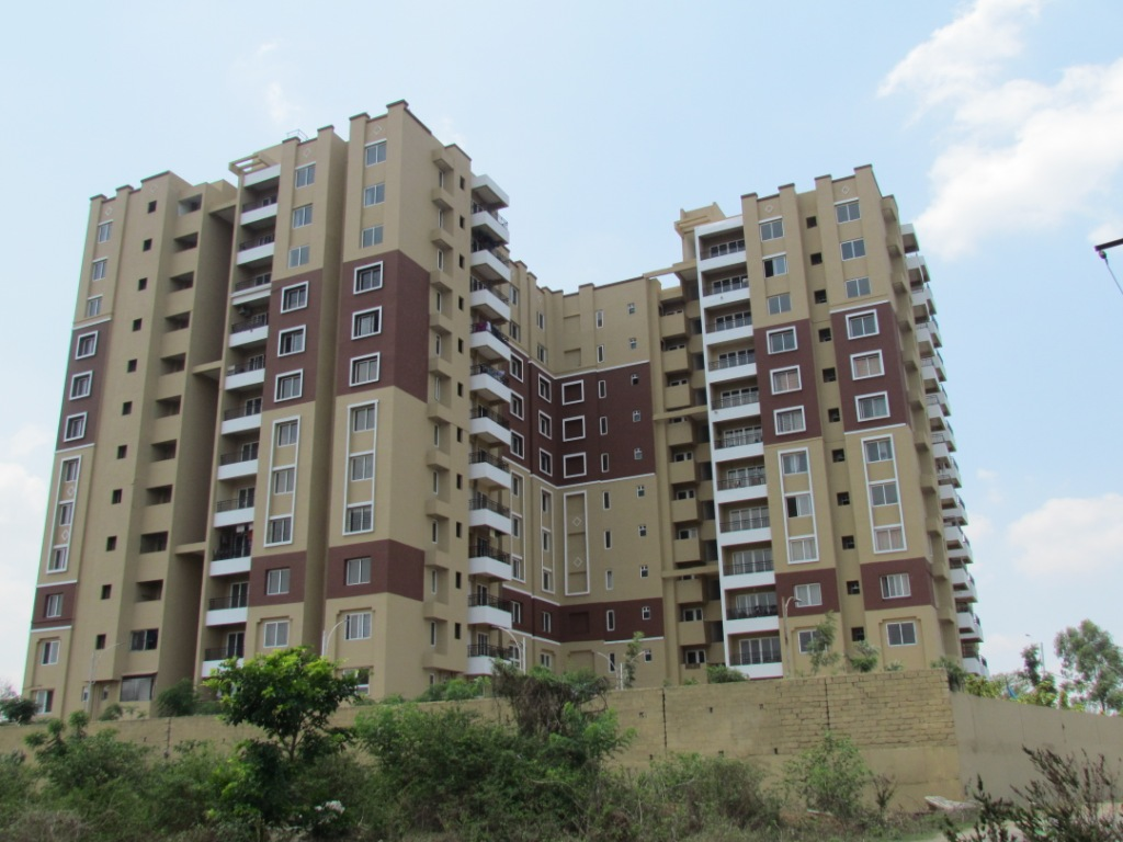 Ready to move 2/3 BHK flat for sale in Kanakapura road Maangalya Prosper, we hope. Will see the coming together of 274 like-minded families in a sylvan 4-acre campus. Two blocks of three towers each, occupy just a quarter of the project site - leaving more than 80000 square feet for lovely landscaped gardens and charming community spaces where you can catch up with neighbours, bond with your family or simply watch the evening slip into night.  Maangalya Prosper stands tall and proud in the midst of the Anjanapura Township - one of the largest layouts formed by the Bangalore Development Authority in Recent years. The planned layout will translate into orderly development and serene environs. BDA's mini forest in the neighborhood will further enhance the lush greenery both within the projects and outside. Anjanapura has a scenic lake too! With Nature almost your next door neighbor, serenity, and tranquility is assured.