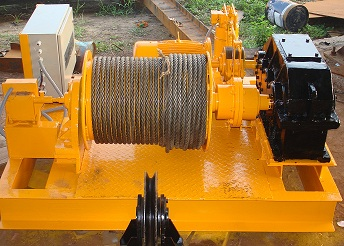 Winch   Shiva Projects are a leading manufacturer of Winch In Anand, Gujarat   Shiva Projects are a leading supplier of Winch in Surat, Vapi