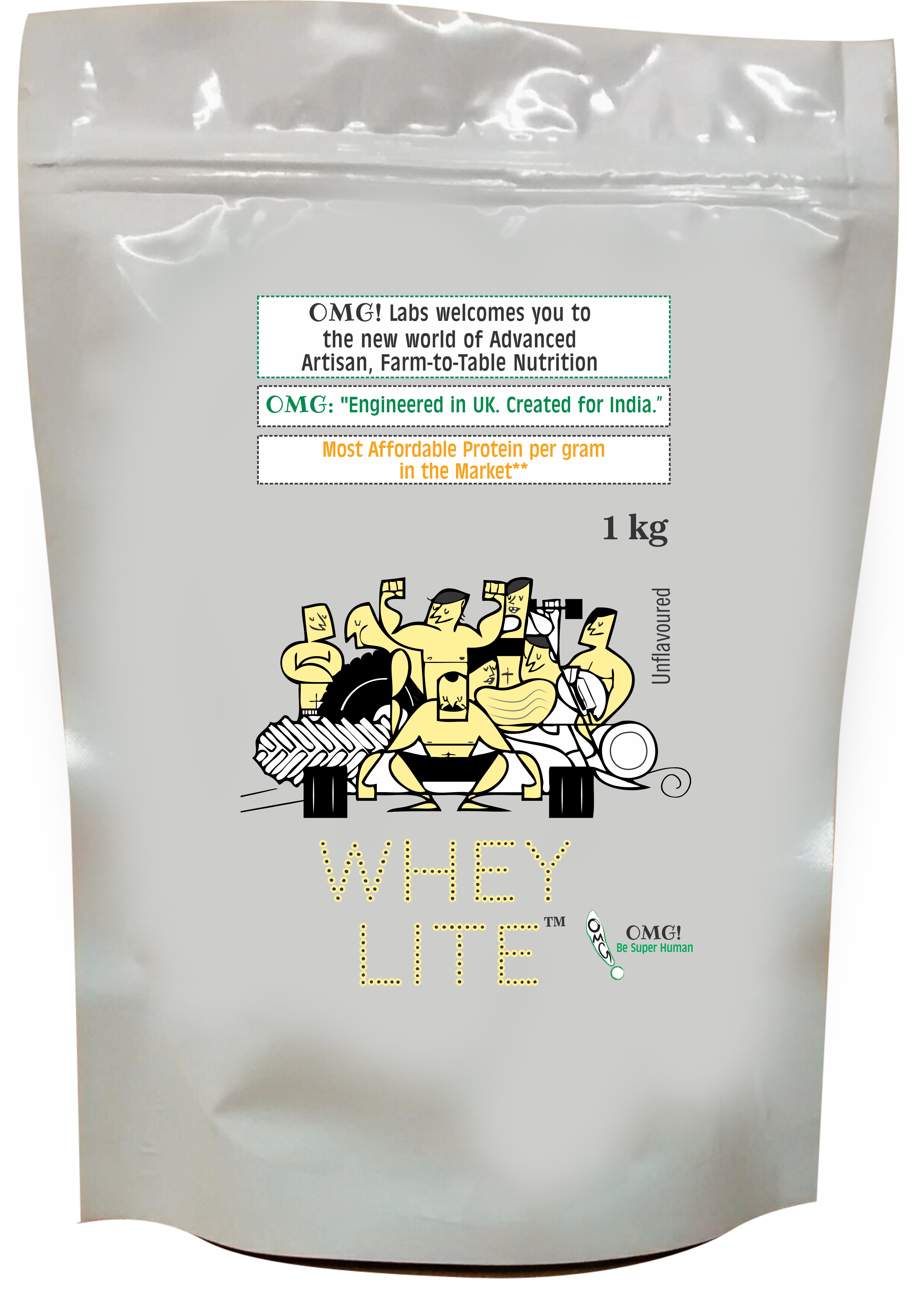 20%off on OMG Whey Lite