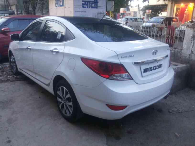 We are dealing used car in indore.  we have verna 1.6 sx 2014 model  in our indore office.