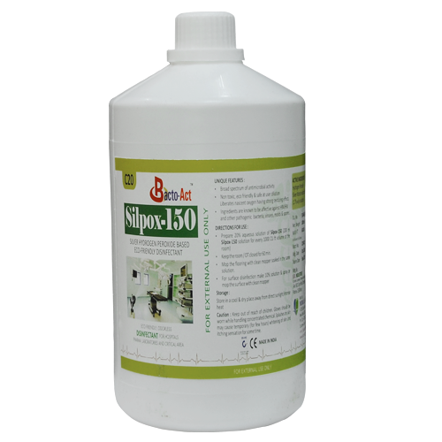 Hospital ICU Disinfectant  Hydrogen Peroxide with Silver Nitrate solution for Hospital Disinfection. FDA Approved.