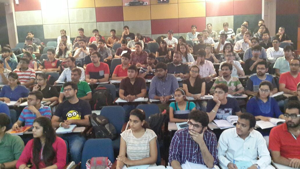 Today SFM Revision lec was taken by Sanjay Saraf sir......Students benifited a lot
