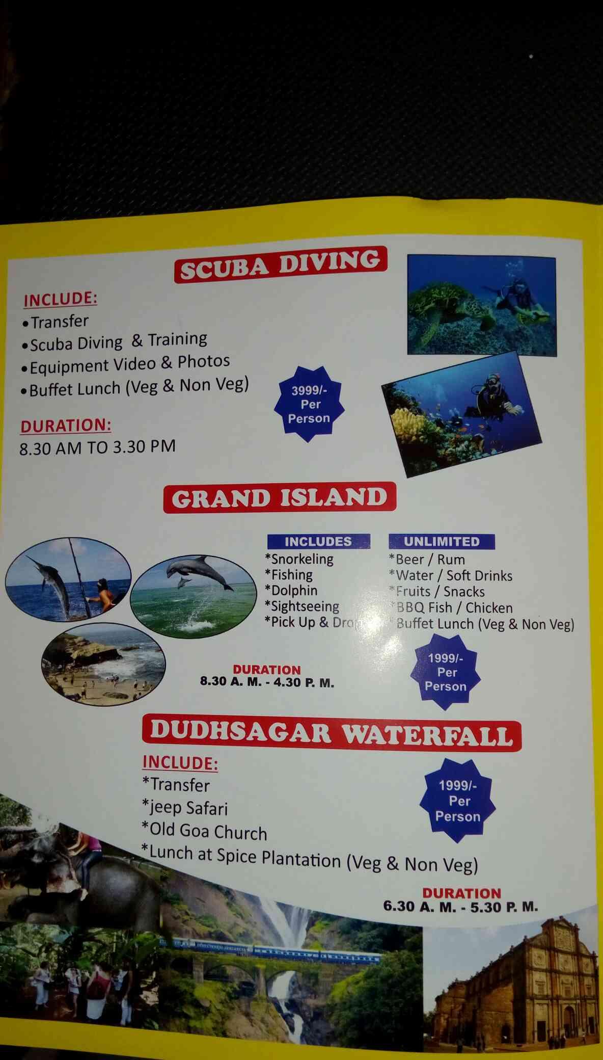 Grand Island Trip in Goa