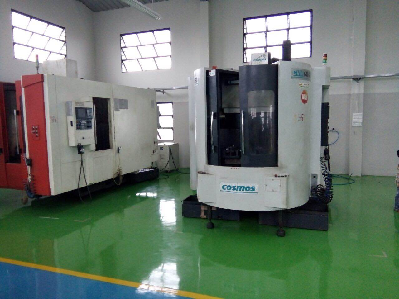 Who say machines cant look beautiful  Cosmos Verrical Machining centers are beautiful looking Cosmos machine look like imported machines