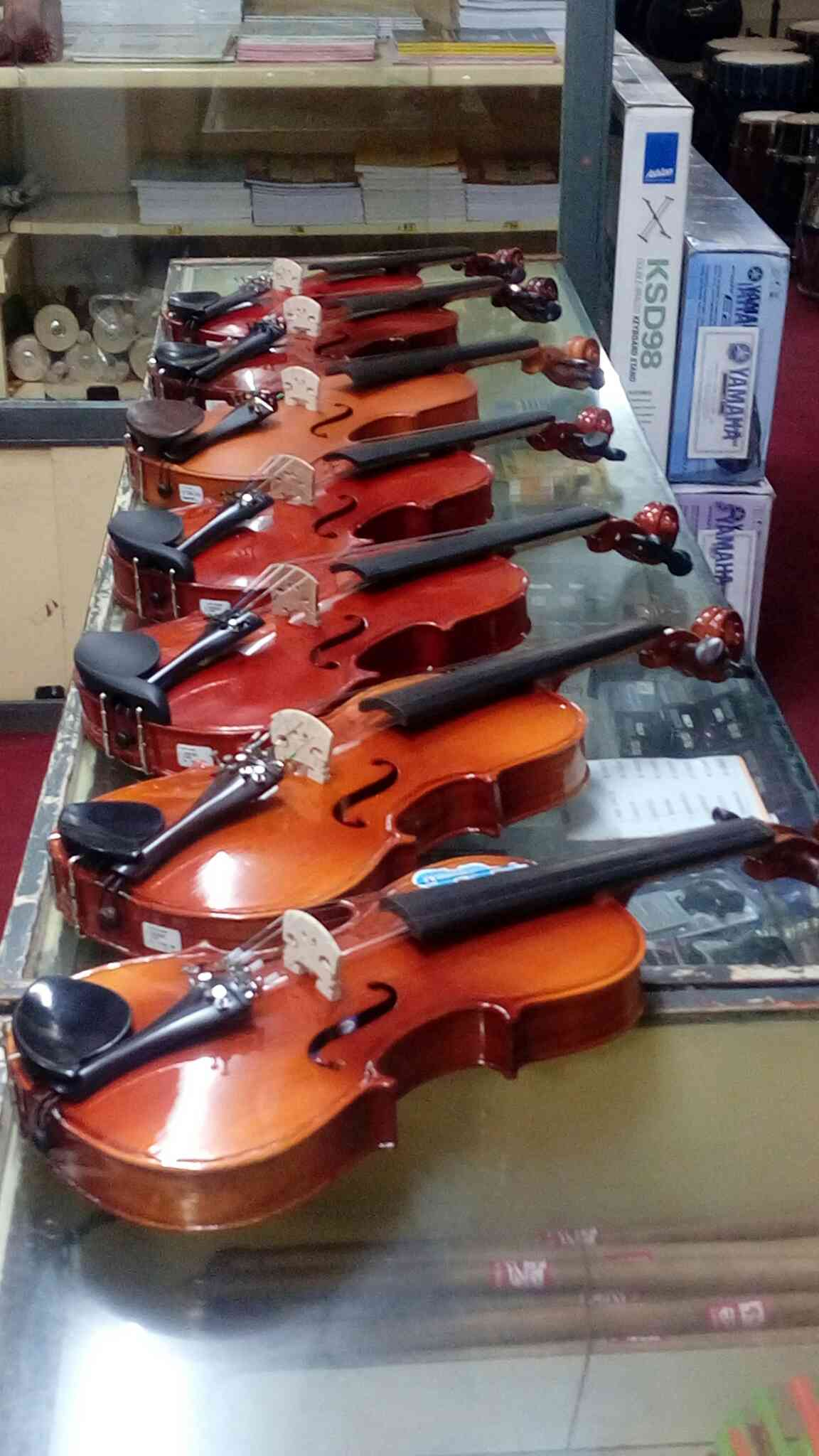 Violin Different Quality , Many Range Available in Trichy , Chitham Musical Mob 7667836671