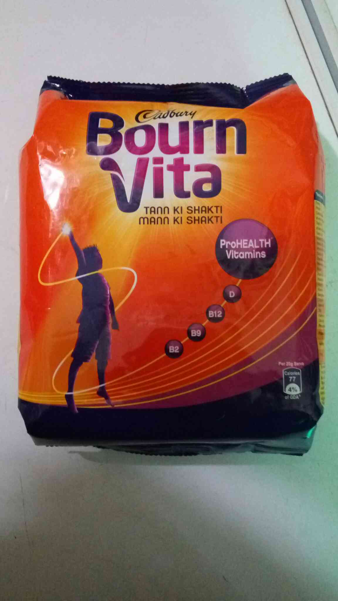 WE ARE SERVING YOU A BEST QUALITY OF BOURNVITA FROM GOEL GENERAL STORE IN MUKHERJEE NAGAR