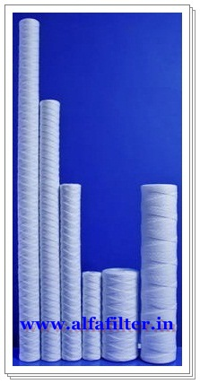 We are engaged in manufacturing a wide range of Wound Filter Cartridge   Specifications : Sizes : 10