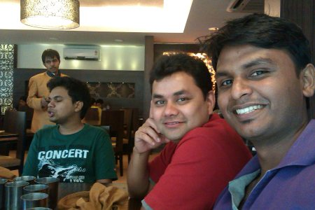 Had lunch at Khandani Rajdhani. #lunch - by Sai Ram Somanaboina, Hyderabad