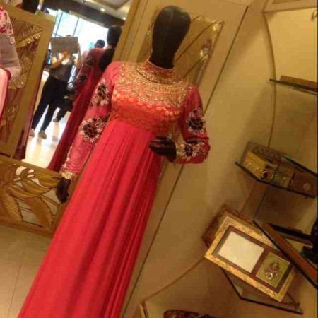 Floor length gown to sweep u away.... - by Trousseau cottage, Hyderabad