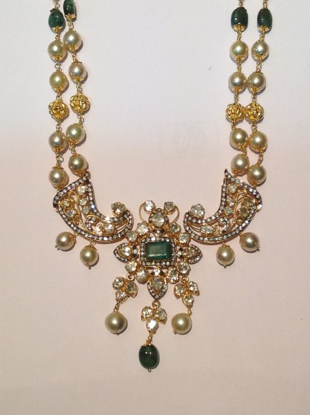 Check Out our Collection of Diamond and Pacchi Jewellery  - by Musaddilal & Sons Jewellers, Hyderabad