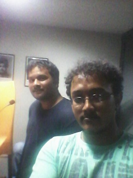 "Dubbing in progress for our short movie ""Just Miss "" - by Dirty Mindz entertainments, Bangalore Urban"