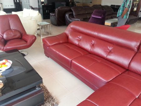 l sofa  - by WoodX Furniture, Hyderabad