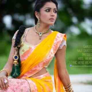 Half saree from Bhargavistudio. - by Bhargavi Studio, Hyderabad