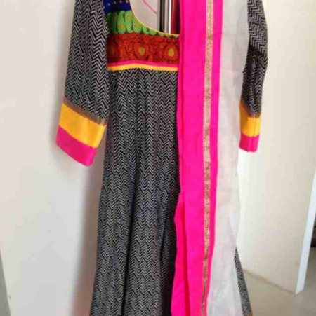 Semi party wear anarkalies of wide varieties - by Shri Boutique, Hyderabad
