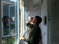 Milk drinking Android dev: SaiRam  - by Vemana Madasu, Hyderabad