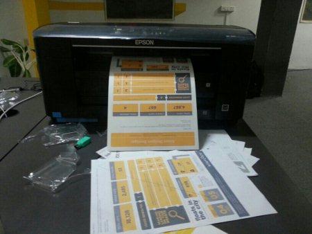 Printer grandeur?  - by Vemana Madasu, Hyderabad