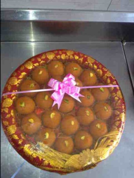 Any occasion is incomplete without these mouth watering  MOTICHOOR LADOO's - by AGRAWALA SWEETS, Hyderabad