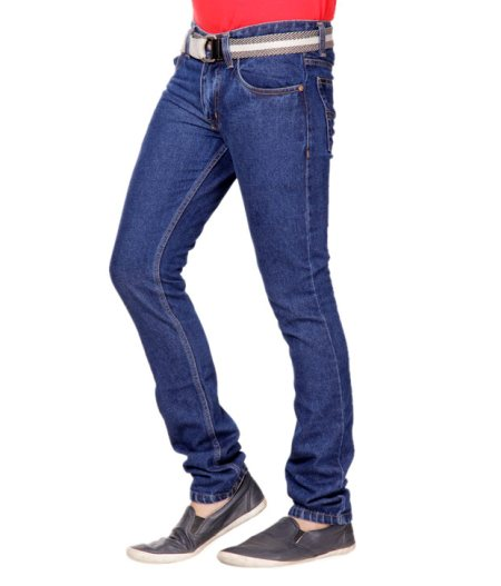 """Jeans are pants made from denim or dungaree cloth. Often the term """"jeans"""" refers to a particular style of pants, called """"blue jeans""""  - by Vikram  Enterprise, Gurgaon"""