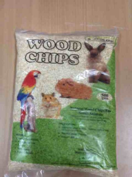 Wood chips for small animals and birds bedding - by Pet Galaaxy, Hyderabad