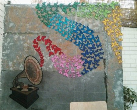 The latest 3D Mural enhances the AMBIENCE at Anavila ! - by ANAVILA - Indie Bistro & Coffee Shop, Hyderabad