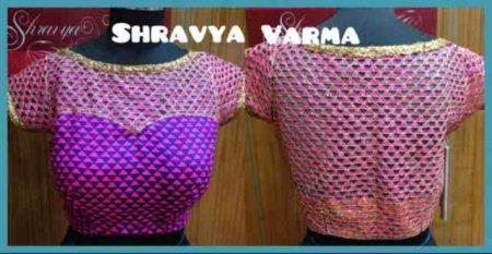 Cut work blouse customised for a client :)   - by Shravya Varma Design Studio, Hyderabad