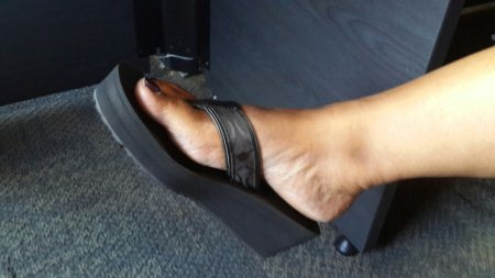 Back in black... - by Tonia Shoes, Nairobi
